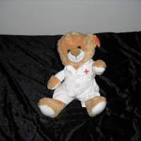 Guardian Angel Heart Teddy Bear Stuffed Animal Plush Toy Closeouts Gift